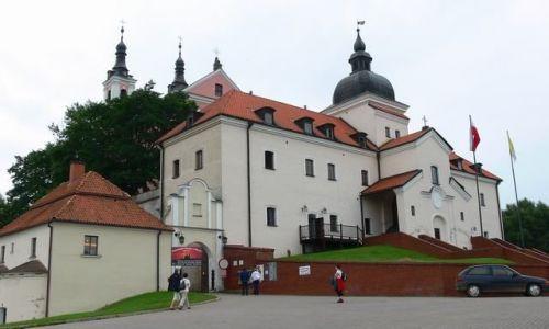Zdjęcie POLSKA / suwalszczyzna / jez.Wigry-były klasztor kamedułów / miejsce warte odwiedzenia
