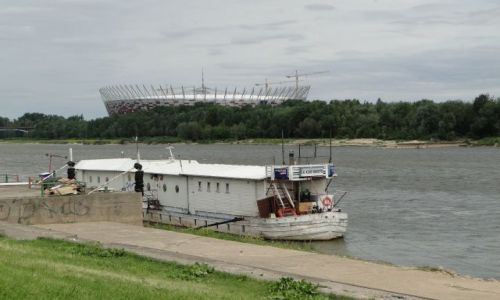 Zdjecie POLSKA / Warszawa / Powiśle / Stadion Narodowy