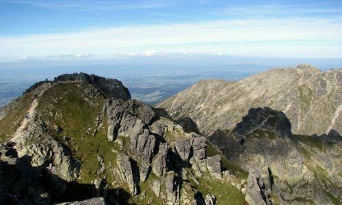 Zdjecie POLSKA / Tatry Wysokie / Pośredni Granat / widok na Skrajny Granat 2225 m.n.p.m.