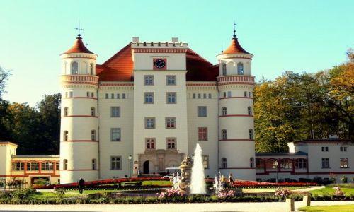 Zdjecie POLSKA / kotlina jeleniogórska / Pałac w Wojanowie / Dolina pałaców i ogrodów