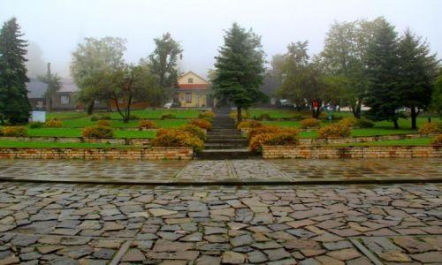 Zdjęcie POLSKA / Małopolska / LANCKORONA / Rynek z dołu