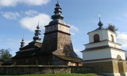 Zdjecie POLSKA / Pasmo Magurskie / Owczary / Cerkiew z  XVII