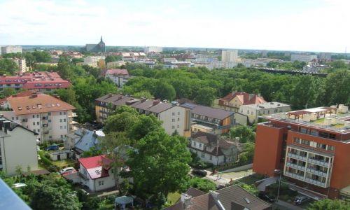 Zdjecie POLSKA / Pomorze zachodnie / Kolobrzeg / Widok z kawiarni na Kolobrzeg