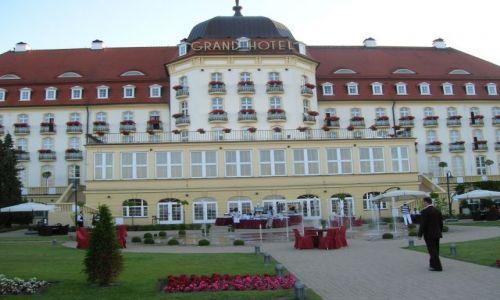 Zdjęcie POLSKA / Sopot / przy plazy sopockiej / Drogi hotel w Sopocie-Grand Hotel