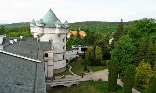 Zdjęcie POLSKA / Podkarpacie / Krasiczyn / Zamek w Krasiczynie