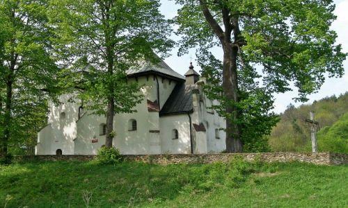 Zdjecie POLSKA / Podkarpacie / Posada Rybotycka / Najstarsza cerkiew w RP