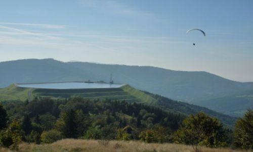 Zdjęcie POLSKA / Beskid Maly / ,, / widok na zbiornik wodny na Górze Żar
