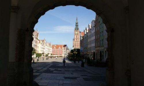 Zdjecie POLSKA / pomorskie / Gdańsk / Gdańsk- Długi Targ