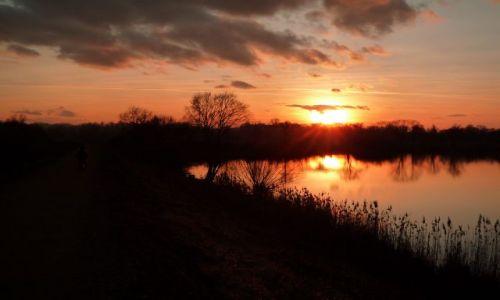 Zdjęcie POLSKA / małopolska / spytkowice / zachód słońca