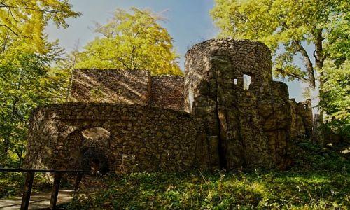 Zdjecie POLSKA / dolnośląskie / Janowice / Bolczów. Ruiny zamku. Niezwykle urokliwe i zapomnianie miejsce.