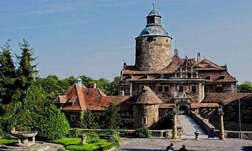 Zdjęcie POLSKA / dolnośląskie / Leśna / Leśna. Zamek Czocha.