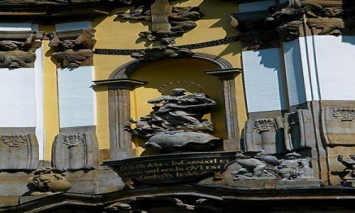 Zdjęcie POLSKA / Wieś w Sudetach Środkowych,w Kotlinie Krzeszowskiej /  Bazylika NMP w Krzeszowie /  Bazylika NMP w Krzeszowie 1