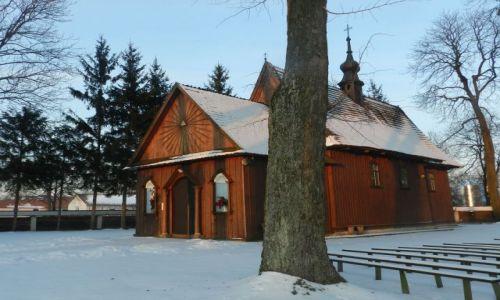 Zdjecie POLSKA / Lubelszczyzna / Bukowina / Kościół w Bukowinie