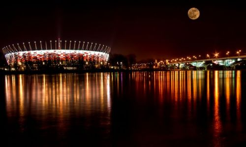 Zdjecie POLSKA / Warszawa / The National Stadium in Warsaw / The National Stadium in Warsaw
