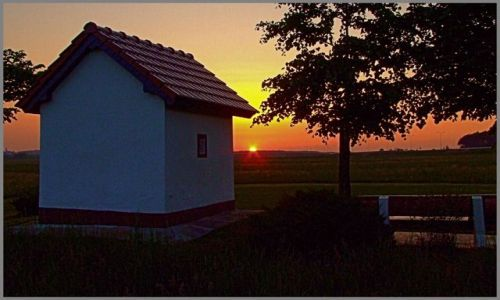 Zdjecie POLSKA / Ślask Opolski / Gogolin / zachód słońca