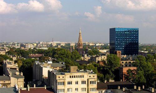 Zdjecie POLSKA / - / ��d� / Widok na miasto