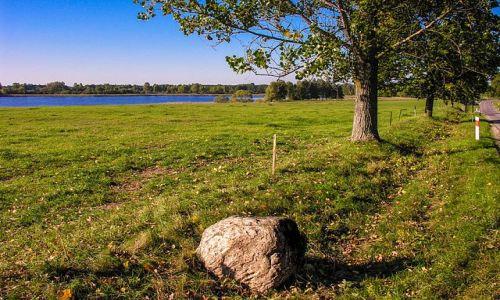 Zdjecie POLSKA / woj warmińsko mazurskie  pow mrągowski  gmina Piecki / Mojtyny / W oddali widać jezioro