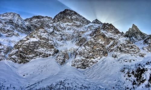 Zdjecie POLSKA / Tatry Mountains / Tatry Mountains / On the other side of the sun Mięguszowiecki Grand Peak