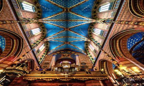 Zdjecie POLSKA / Kraków / Kościół Mariacki Kraków / St. Mary's Basilica, Krakow