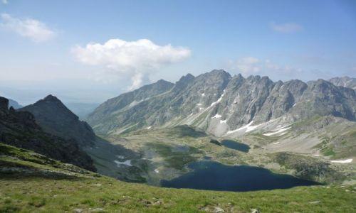 Zdjecie POLSKA / małopolska / przełęcz pod chłopkiem i zakręcona chmura w tatrach słowackich / Wysokie Tatry