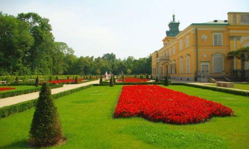 Zdjecie POLSKA / Mazowsze / Warszawa Wilanów / Pałacowy ogród.