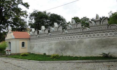 Zdjecie POLSKA / opolskie / Trzebina / Renesansowy mur okalający ruiny