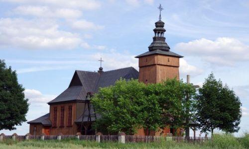 Zdjecie POLSKA / Podlasie / Tokary / Kościół w stylu narodowym