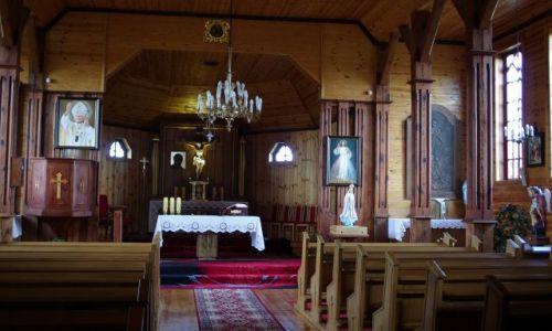 Zdjecie POLSKA / Podlasie / Tokary / Kościół Podwyższenia Krzyża Świętego
