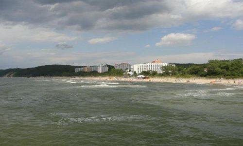 Zdjecie POLSKA / zachodniopomorskie / Międzyzdroje / widok z molo w