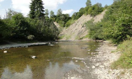 Zdjecie POLSKA / Bieszczady / Smerek / Rzeka Wetlinka