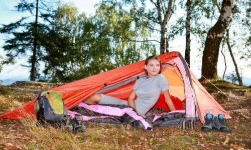 Zdjęcie POLSKA / -- / -- / Wakacje pod namiotem - sposób na niedrogi urlop (artykuł sponsorowany)