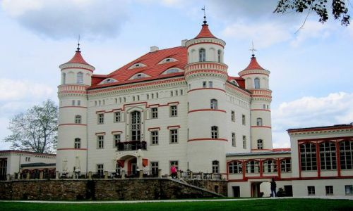 Zdjecie POLSKA / Dolny Śląsk / Wojanów / pałac w Wojanowie