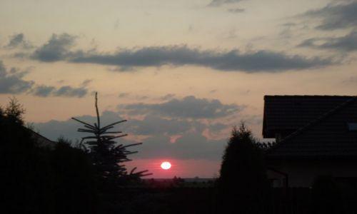Zdjecie POLSKA / Suwalszczyzna / Suwałki / zachód słońca 1