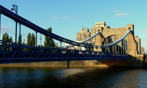 Zdjecie POLSKA / DONY ŚLĄSK / MOST GRUNWALDZKI - III / Wrocław - miasto stu mostów    cd