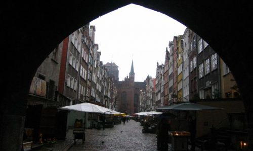 Zdjecie POLSKA / Gdańsk / Gdańsk - ukochana ulica Mariacka:) / Mariacka