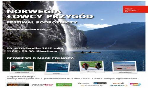 POLSKA / --- / --- / Norwegia. Łowcy Przygód- patronat medialny Globtroter.pl