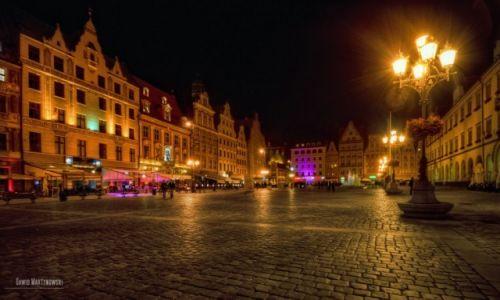 Zdjecie POLSKA / Wrocław / Rynek we Wrocławiu / WROCLOVE by night. Worldwide Photowalk by Scott Kelby in Wrocław