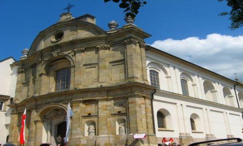 Zdjęcie POLSKA / Świętokrzyskie / Święty Krzyż / klasztor