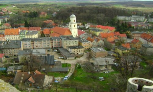 Zdjecie POLSKA / Dolnośląskie / Bolków / widok z zamku