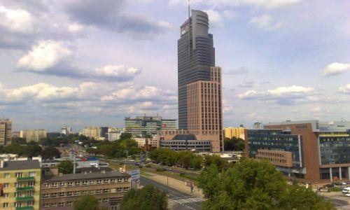 Zdjecie POLSKA / mazowieckie / Warszawa / z wieży Muzeum Powstania Warszawskiego