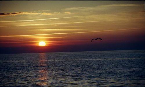 Zdjecie POLSKA / wybrzeże / Dziwnówek / zachód słońca