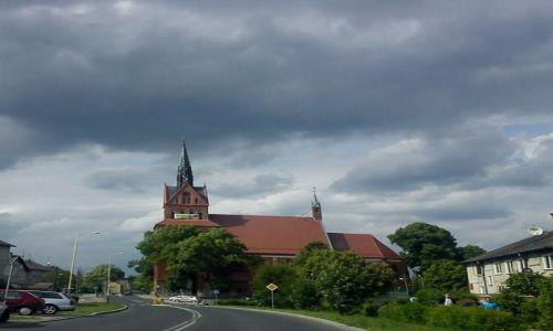 Zdjęcie POLSKA / zachodniopomorskie / Chociwel / burzowo...