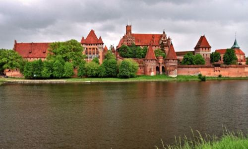 Zdjęcie POLSKA / Woj. Pom. / Malbork / Zamek w Malborku