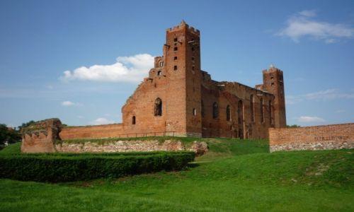 Zdjecie POLSKA / Kujawsko - pomorskie / Radzyń Chełmiński / Ruina zamku komturów krzyżackich