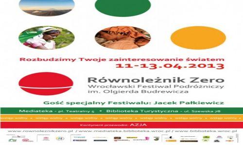 POLSKA / --- / --- / II edycja  Wrocławskiego Festiwalu Podróżniczego im. Olgierda Budrewicza