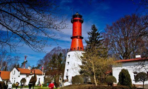 Zdjęcie POLSKA / Pomorskie / Rozewie / Rozewie. Latarnia morska.