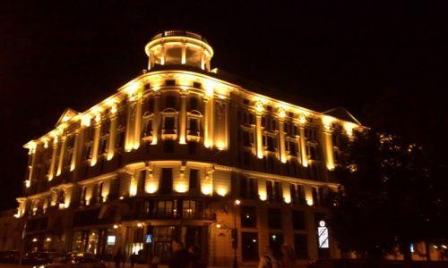 Zdjecie POLSKA / Mazowsze / Warszawa / Hotel Bristol nocą