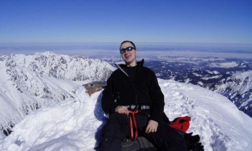 Zdjecie POLSKA / - / Tatry / Rysy zimą zaliczone