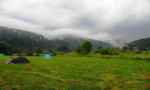 Zdjęcie POLSKA / Beskidy wschodnie / Bieszczady / Parujące góry