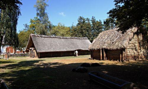 Zdjęcie POLSKA / Biskupin / Wieś / Szlakiem piastowskim.